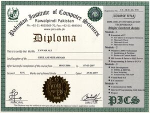 Fake and Real Certificates